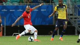 Копа Амеріка: Чилі мінімально переміг Еквадор та достроково вийшов з групи