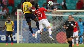 Невероятный гол Алексиса Санчеса в обзоре победного матча Чили против Эквадора