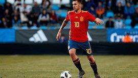 Шикарний гол зі штрафного від Себальйоса у відеоогляді матчу Іспанія U-21 – Польща U-21 – 5:0