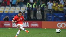 Копа Америка: Чили в серии пенальти переиграло Колумбию и вышло в полуфинал