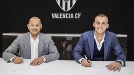 Силлессен официально перешел в Валенсию