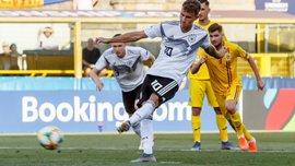 Евро-2019 U-21: Германия в драматичном матче переиграла Румынию и вышла в финал турнира
