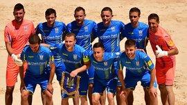 Збірна України з пляжного футболу у півфіналі Європейських ігор поступилась Португалії