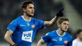 Яремчук и Безус во втором матче подряд отличились голами за Гент