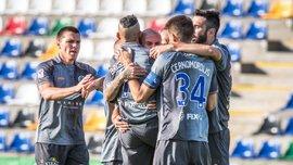 Дебелко забил свой первый гол за Ригу и помог команде одержать разгромную победу