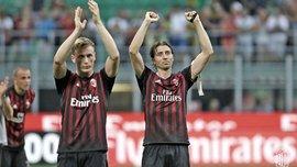 Милан попрощался сразу с пятью игроками