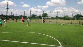 Президент Української асоціації футболу відкрив нові майданчики в двох областях