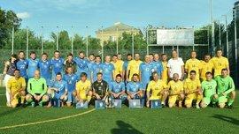 Збірна УАФ зіграла товариський матч Кубку виклику проти збірної українських журналістів