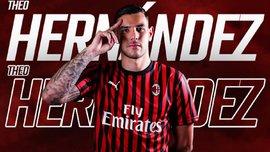 Тео Эрнандес официально стал игроком Милана