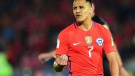 Санчес зазнав пошкодження у матчі проти Аргентини