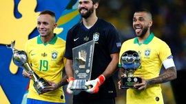 Копа Америка-2019: лучшими бомбардиром, игроком и голкипером турнира стали бразильцы