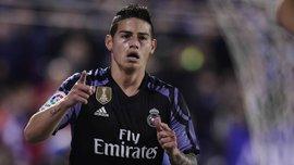 Реал не привітав Хамеса з днем народження – усі колишні клуби колумбійця не забули про екс-гравця