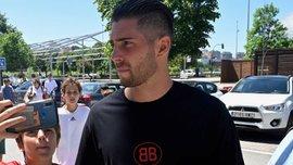 Люка Зидан вслед за отцом срочно покинул расположение своего клуба