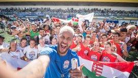 Бразилець Неймар повернувся після травми на Світовий Фінал Red Bull Neymar Jr's Five