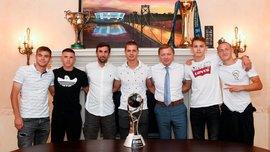 Шахтер подготовил особые подарки для чемпионов мира U-20 – Срна почтил победителей Мундиаля