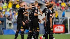 Боруссия Дортмунд порадовала ливнем шедевральных голов в товарищеском матче против Сиэтла