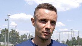 Коркішко відзначився голом у дебютному матчі за СК Дніпро-1