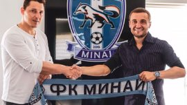Кобин рассчитывает, что Кополовец поможет Минаю как футболист