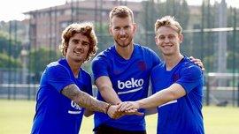 Гризманн: Барселона строит непобедимую команду