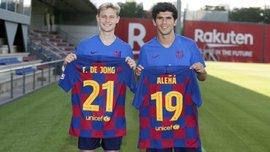 Аленья різко розкритикував керівництво Барселони – хавбеку не сподобалось рішення віддати його номер де Йонгу