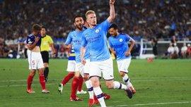 Йокогама Марінос – Манчестер Сіті – 1:3 – відео голів та огляд матчу