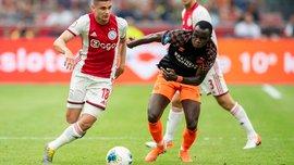 Невероятный дальний выстрел Блинда в видеообзоре матча за Суперкубок Нидерландов Аякс – ПСВ – 2:0