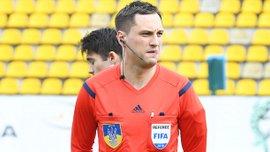 Украинская бригада арбитров во главе с Балакиным обслужит матч квалификации Лиги Европы