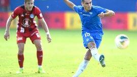 Алібеков дебютував за Слован Ліберец в офіційному матчі