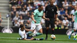 Интер смог вырвать победу у Тоттенхэма в матче Международного кубка чемпионов