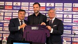 Бадель вернулся в Фиорентину через год после перехода в Лацио