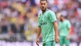 Азар розкішним ударом забив перший гол у футболці Реала