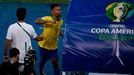 Жезус получил серьезное наказание за агрессию в финале Копа Америка