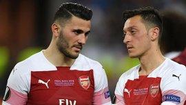 Озил и Колашинац не сыграют против Ньюкасла из-за недавнего инцидента с нападением на игроков
