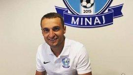 Шалена радість Кополовця та гравців Миная після дебютної перемоги в Першій лізі