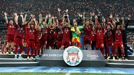 Ліверпуль наздогнав Реал за кількістю перемог в Суперкубку УЄФА