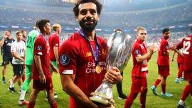 Ливерпуль – Челси: украинская девушка нарисовала портрет Салаха и привезла его на матч за Суперкубок УЕФА
