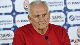 Петровіч: Були шоковані через непризначений пенальті у ворота Зорі, тому одразу отримали вилучення