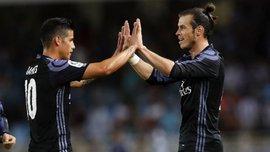 Сельта – Реал: Хамес и Бейл попали в заявку мадридцев на матч 1-го тура Ла Лиги