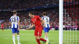 Бавария в стартовом матче Бундеслиги сенсационно расписала ничью с Гертой