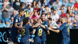 Шедевральный гол Крооса в видеообзоре матча Сельта – Реал – 1:3