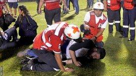 Три человека погибли во время массовых беспорядков накануне матча чемпионата Гондураса