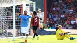 Безумный гол Уилсона в видеообзоре матча Борнмут – Манчестер Сити – 1:3