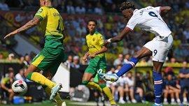 Голевая перестрелка в видеообзоре матча Норвич – Челси – 2:3