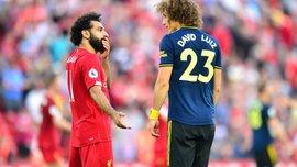 """""""Салах сказав, що не відчував дотику"""": Давід Луїс поставив під сумнів справедливість пенальті у ворота Арсенала"""