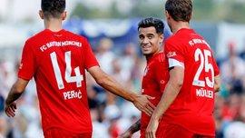 Коутиньо забил дебютный гол и отдал ассист за Баварию в товарищеском матче