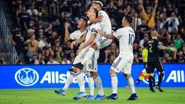 Ибрагимович в третий раз подряд оформил дубль за Гэлакси в феерическом матче против Лос-Анджелеса с Велой