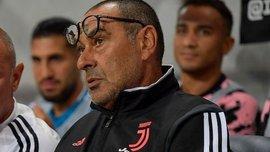 Саррі дебютує на чолі Ювентуса у матчі проти Наполі – він пропустив перший тур через хворобу
