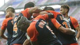 Монпелье неожиданно переиграл Лион в богатом на события матче Лиги 1