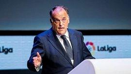 Президент Ла Ліги Тебас розповів, чим суперник Зорі кращий за Реал та Барселону
