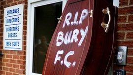 Бери исключен из Футбольной лиги Англии после 125 лет пребывания в ней